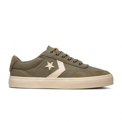 CONVERSE COURTLANDT CHINO OX DARK STUCCO