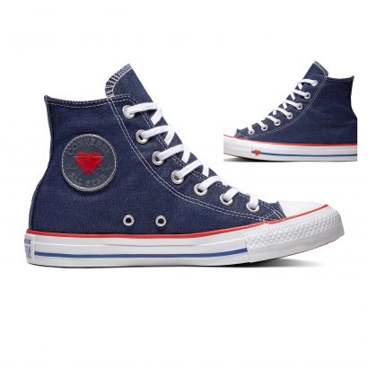 CTAS SUCKER FOR LOVE HI DENIM BLUE