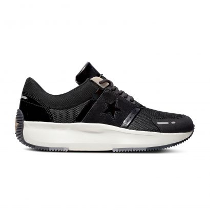 RUN STAR RUN THE COURT OX LEATHER BLACK