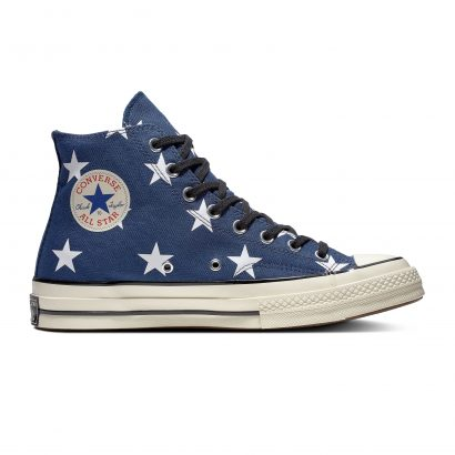 CHUCK 70 ARCHIVE PRINTS HI NAVY BLUE