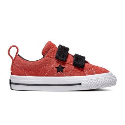 ONE STAR 2V DARK STAR OX SUEDE RED