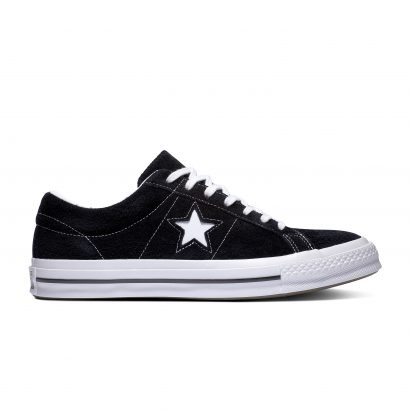 ONE STAR OX VINTAGE SUEDE DARK BLACK