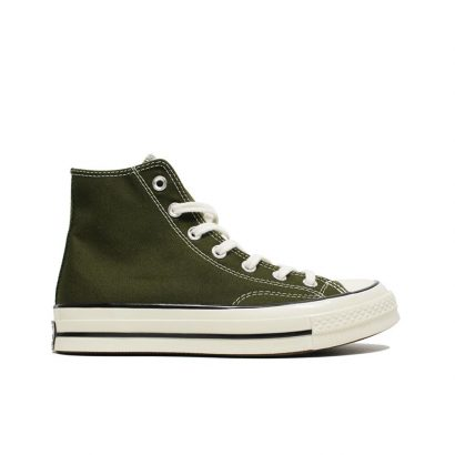 CHUCK 70 HI VINTAGE CANVAS OLIVE GREEN