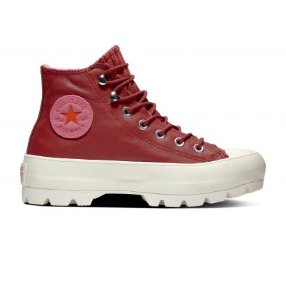 CTAS LUGGED WINTER HI HABANERO RED RETROGRADE